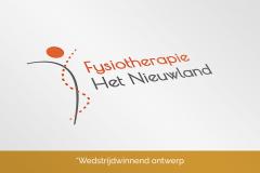 Fysiotherapie Het Nieuwland - Wedstrijdwinnend Logo Ontwerp