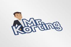 Mr. Korting Logo Ontwerp