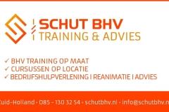 Schut BHV Krant Advertentie Ontwerp