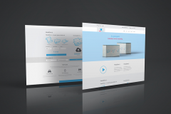 Just Packs PSD Webdesign