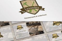 Lexandra Huisstijl Ontwerp (En Website)