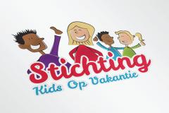 Stichting Kids Op Vakantie Logo Ontwerp
