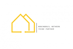 Woningruil Netwerk Think Further Logo Ontwerp - I