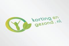 Korting En Gezond Logo Ontwerp