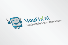 YouFix Logo Ontwerp