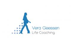 Vera Geessen Life Coaching Logo Ontwerp