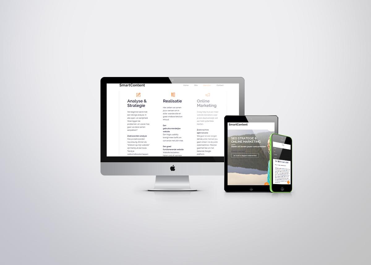 Bezoek de website van SmartContent